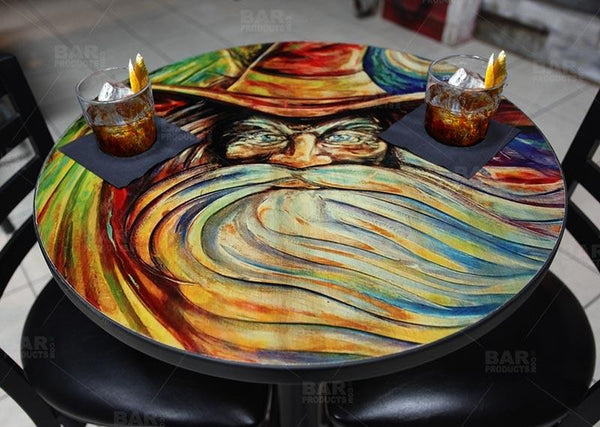 The Wizard Round Wooden Table Top - Two Sizes Available