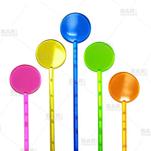 BarConic® Round Top Drink Stirrer (Assorted Color)