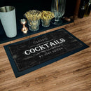 "Custom Bar Service Mat - 17.25"" x 10"""