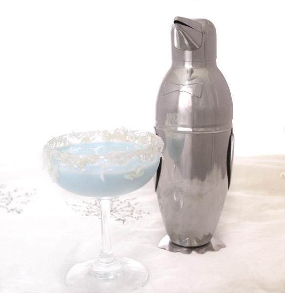 3 Piece Penguin Cocktail Shaker