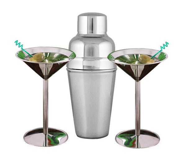 Martini Set - Stainless Steel