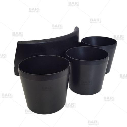 """Shooter Down"" Bucket Clip Shot Holders"