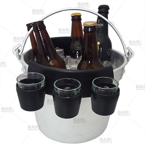 """Six Shooter"" Bucket Clip Shot Holders"