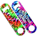 CUSTOMIZABLE Skinny Mini Bottle Opener - Tie Dye