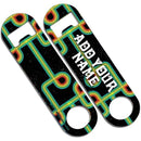 CUSTOMIZABLE Skinny Mini Bottle Opener - Dark Retro