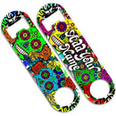 CUSTOMIZABLE Skinny Mini Bottle Opener - Sugar Skulls