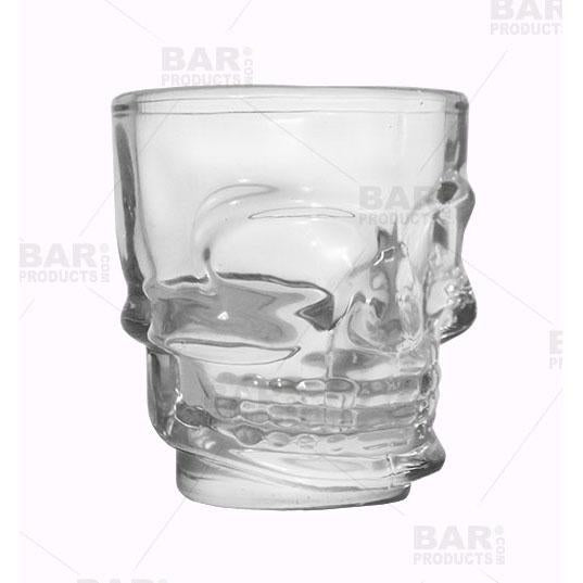 BarConic® Skull Shot Glass - 1.5oz  - Side View