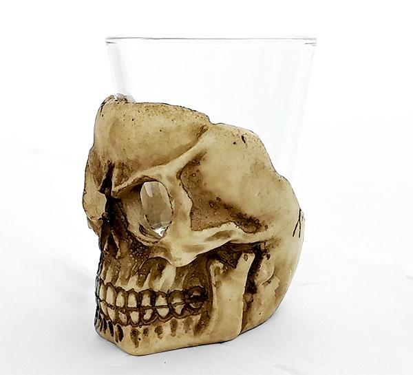 BarConic® Ceramic Skull Shot Glass - 2oz