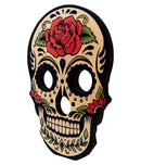 Shot Glass and Bottle Caddy - Sugar Skull Rose
