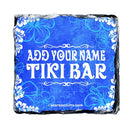 CUSTOMIZABLE Rock Slate Coasters - Tiki Themed