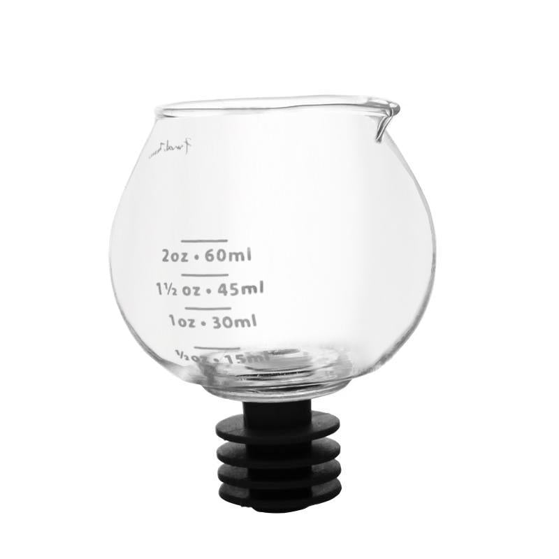 Final Touch® Snifter Bottle Top Jigger