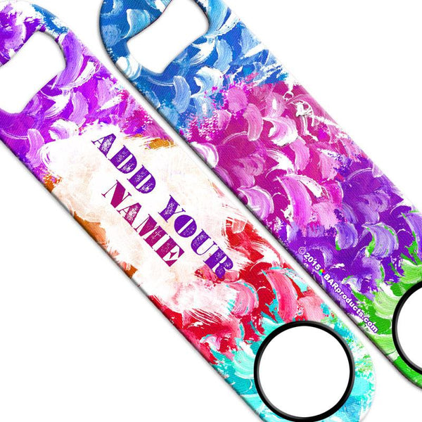 ADD YOUR NAME Speed Bottle Opener - Paint Brush