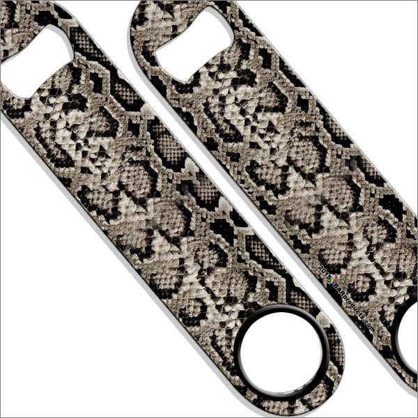 Speed Bottle Opener - Brown Snakeskin