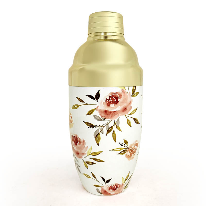 3 Piece - Spring Flower Shaker - 16 oz.