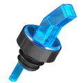 Square Tip Screened Pourer - Blue