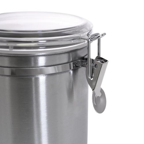 Stainless Steel Storage Containers with Metal Latch