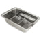 Large Stainless Steel Ice Cube Tray - Retro Style