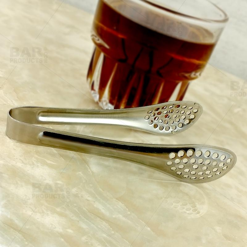 Strainer Tongs - Stainless Steel - 5 Inch