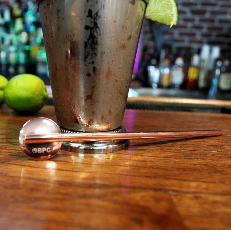 Olea™ Straw Spoon - Copper Plated