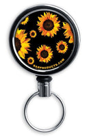 Retractable Reels for Bottle Openers – Sunflowers