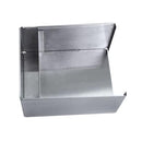 Square Stainless Steel Napkin Holder - TOP VIEW