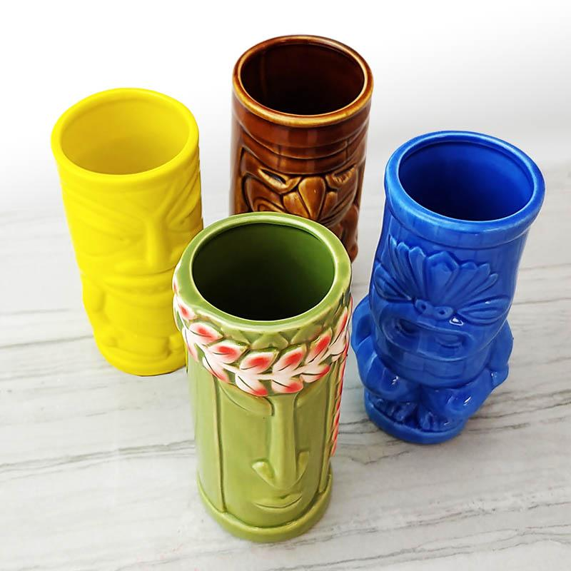 Tiki Mugs Drinkware Package