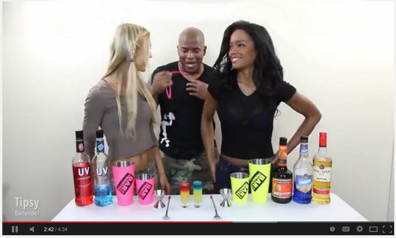 Tipsy Bartender uses our Shakers!