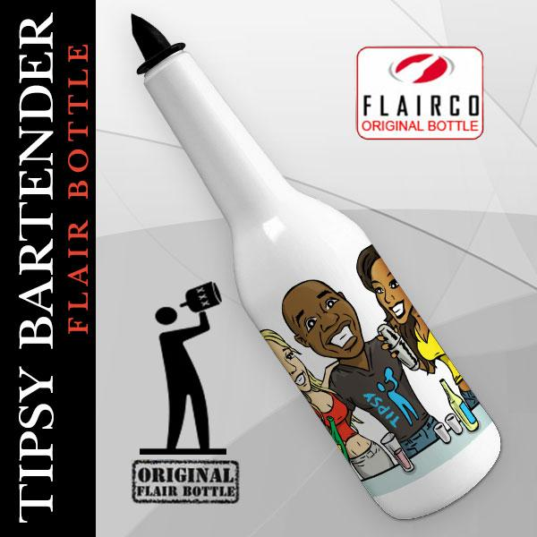Kolorcoat™ Flair Bottle - Tipsy Bartender - 750ml