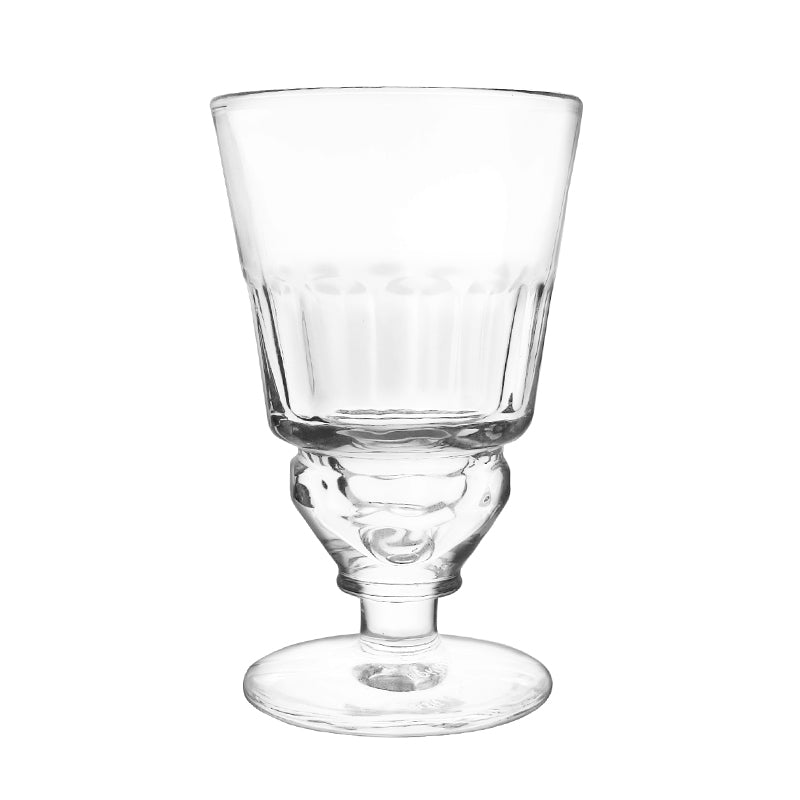 Traditional Pontarlier Absinthe Glass with Cuts