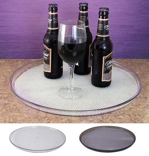 Translucent Plastic Serving Trays - Color Options