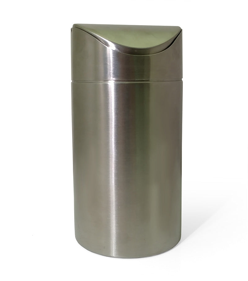 "Trash Can for Counter Caddies® - Stainless Steel - 4.5"" Diameter"