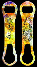ADD YOUR NAME V-Rod® Bottle Opener - Tribal Pineapple