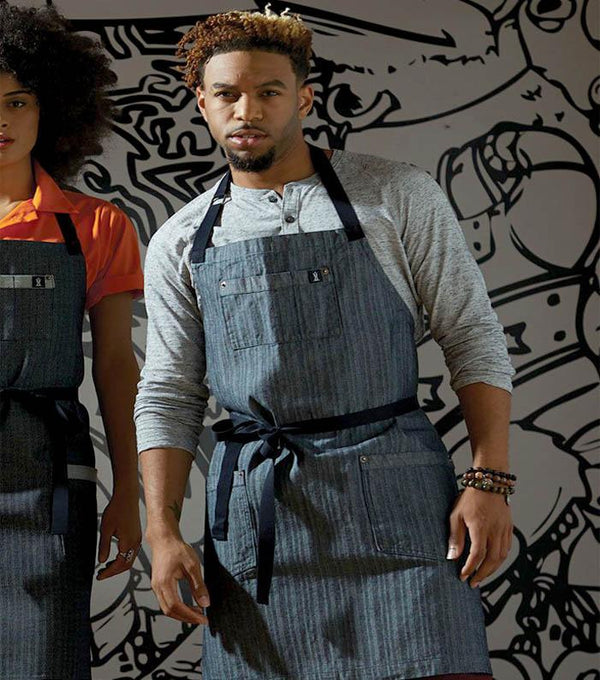 Renegade Bib Apron - Triple Denim