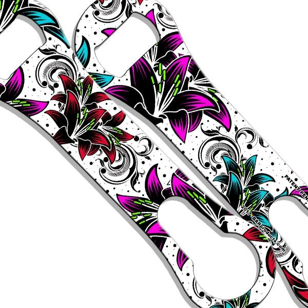 V-Rod® Bottle Opener - Tropical Floral