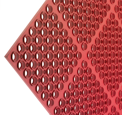 Tuff Mat Floor Matting - Red