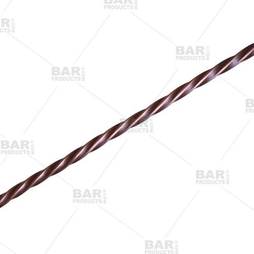 BarConic® Copper Bar Spoon with Disk - Twisted Stem