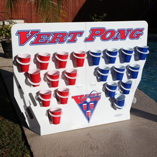 Vert Pong® – Pool Party