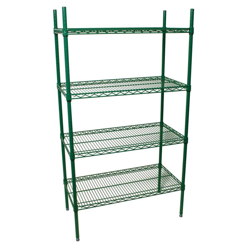 "Epoxy Coated Wire Shelves 18"" Depth (Various Sizes)"