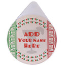 ADD YOUR NAME - Custom Glass Rimmer Lid - Viva Mexico