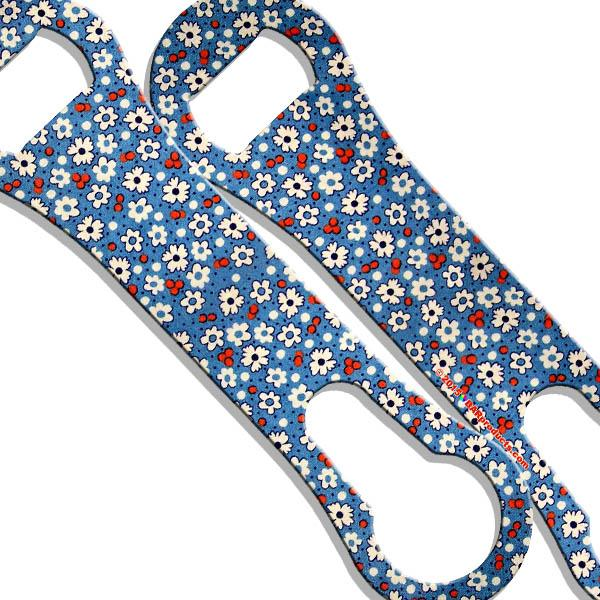 V-Rod® Bottle Opener - Denim Floral