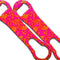 V-Rod® Floral Pink/Orange Glitter Bottle Opener