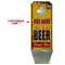 CUSTOMIZABLE Wall Mounted Wood Plaque Bottle Opener & Cap Catcher - Vintage Ice Cold Beer