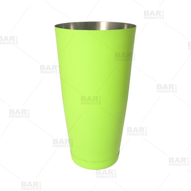 Weighted Powder Coated Shaker - Irregular - Green - 28oz