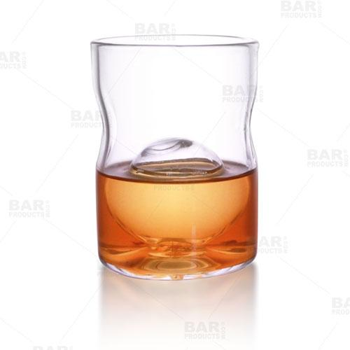 BarConic® Whisky Glass with Ice Ball Insert