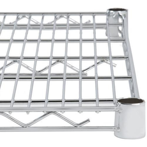"Chrome Plated Wire Shelves 24"" Depth (Various Sizes)"