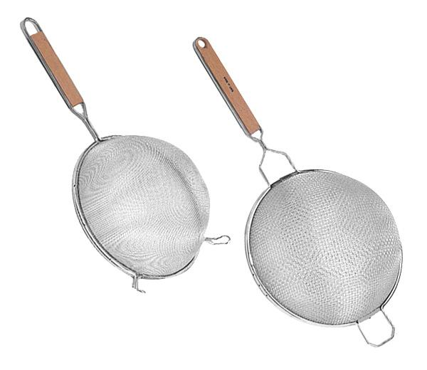 Kitchen Strainer w/ Wooden Handle