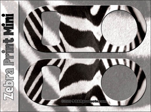 Zebra Mini Bottle Opener