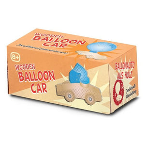 Wooden Balloon Car