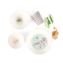 Load image into Gallery viewer, Bamboo 4 Piece Set - T-Rex Supper