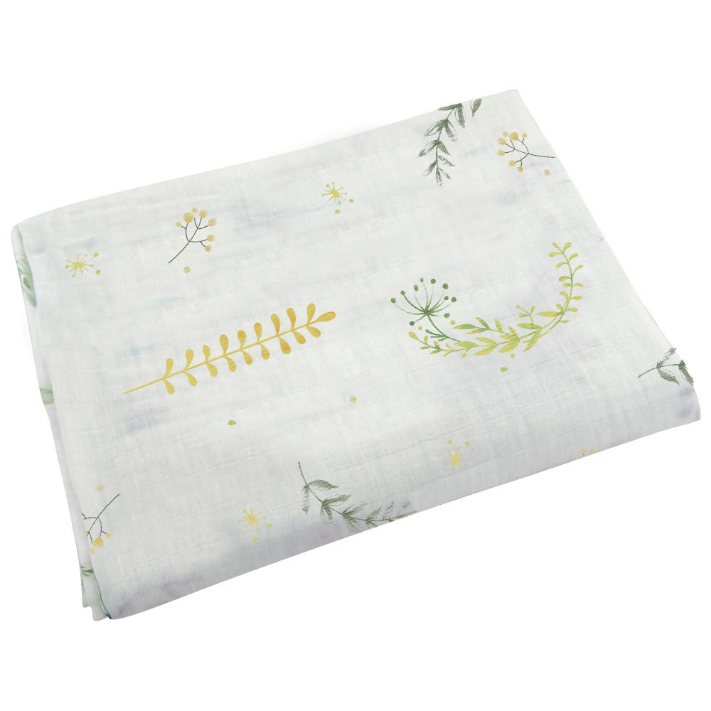 Ponchik Baby Muslin Wrap - Dandelion Breeze
